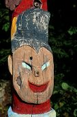stock photo of totem pole  - HANOVER - JPG
