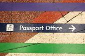 Towards passport office
