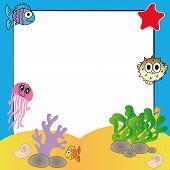 water animals background