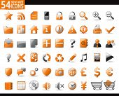 pic of home is where your heart is  - 54 Orange Web Icons for your internet sites - JPG