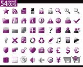 Violet Web Icons