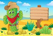 Cactus theme image 5 - eps10 vector illustration.