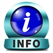 picture of more info  - info icon more information sign additional info blue metal icon read more button - JPG