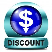 discount lowest price special offer bargain and sales discount blue icon label or sign