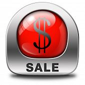 sales summer or winter sale red icon sticker or button lowest price and best bargain at sales. A hot