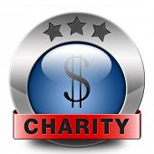 charity icon fund raising raise money to help donate give a generous donation or help with the fundr