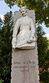 Monument To Samuel Mikoviny. Bratislava, Slovakia