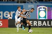 LOS ANGELES - AUGUST 3: Juventus F Fabio Quagliarella during the 2013 Guinness International Champio