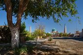 Ancient city of Khiva at sunny day, Uzbekistan