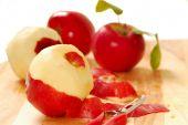 Постер, плакат: Пилинг яблоки