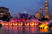 Chicago Buckingham fountain 9526