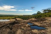 pic of canaima  - Highly detailed image of Canaima National Park Venezuela - JPG