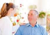 picture of geriatric  - Find the right home care services for your loved - JPG