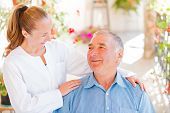 stock photo of geriatric  - Find the right home care services for your loved - JPG