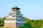 External View Of Ancient Osaka Castle