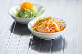 foto of kimchi  - Kimchi Korean food with detail and description