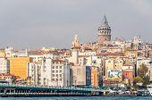 Galata Quarter Of Istanbul