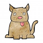 image of sticking out tongue  - cartoon dog sticking out tongue - JPG