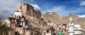 Leh Palace - Namgyal Tsemo Gompa - Leh - Ladakh - Jammu And Kashmir - India