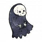stock photo of ghoul  - cartoon spooky ghoul - JPG