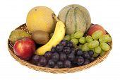 Large Basket Of Assorted Fruit