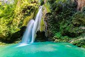 Waterfall in the Sierra Gorda Mexico