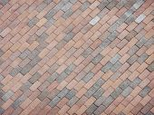 Multi Hue Brick Pattern For Background