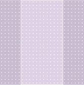Greeting Card On Flowery Pattern Background