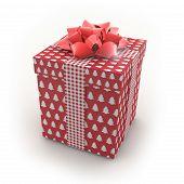 3D - Christmas Gift Box