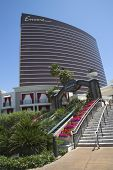 The entrance on The Wynn Encore Hotel and Casino in Las Vegas