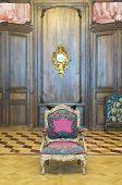 Ancient Interior Chair. Hermitage.