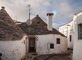 Alberobello Town In Italy