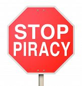 Stop Piracy and copyright violations on file sharing or internet torrent websites