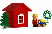 Little Builder And Toy House