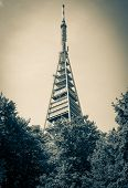 Tower Kamzik At Bratislava, Slovakia