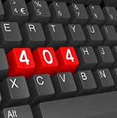 Red 404 Keyboard