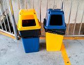 Twin Plastic Trash