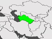 picture of turkmenistan  - Map of worlds - JPG