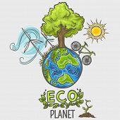 Eco planet - concept design poster