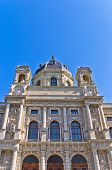 Natural History museum building on Maria Theresa square in Vienna