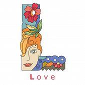 Letter L - Love