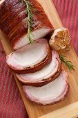 Bacon-wrapped Pork Loin