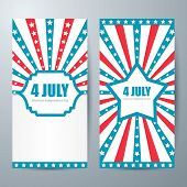 4 July Card Template