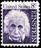 Albert Einstein Stamp