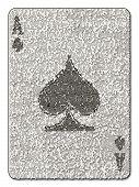 Ace Of Spades Mosaic