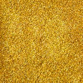 golden glitter makeup powder texture