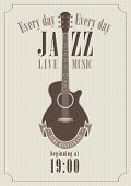 Poster for a jazz