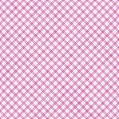 Pink Gingham Pattern Repeat Background