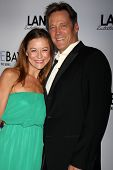 LOS ANGELES - AUG 4:  Taylor Stanley, Matthew Ashford at the