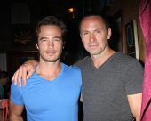 LOS ANGELES - AUG 1:  Ryan Carnes, William deVry at the William deVry Fan Club Event at the Californ
